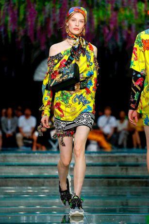 Versace Menswear Spring Summer 2019 Milan25