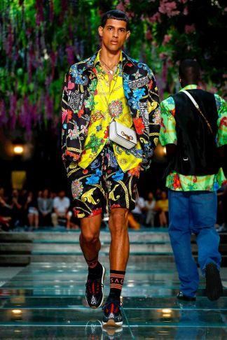 Versace Menswear Spring Summer 2019 Milan45