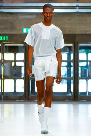 Xander Zhou Menswear Spring Summer 2019 London10