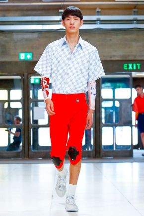 Xander Zhou Menswear Spring Summer 2019 London17