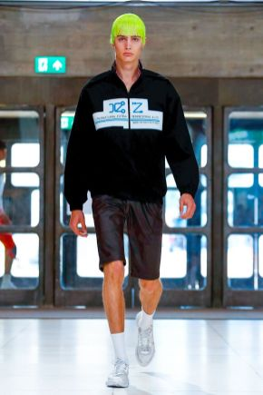 Xander Zhou Menswear Spring Summer 2019 London18