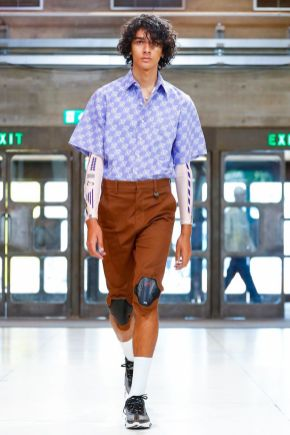 Xander Zhou Menswear Spring Summer 2019 London2