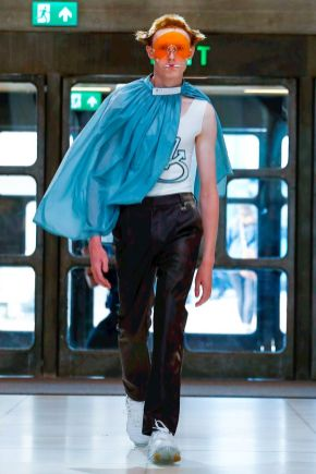 Xander Zhou Menswear Spring Summer 2019 London20