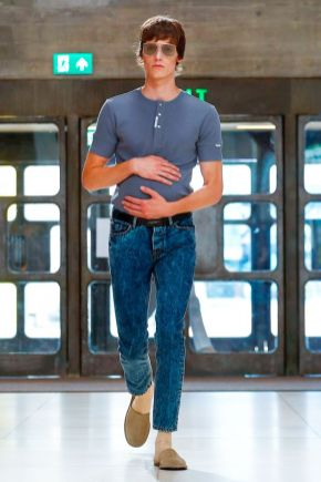 Xander Zhou Menswear Spring Summer 2019 London27