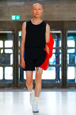 Xander Zhou Menswear Spring Summer 2019 London28