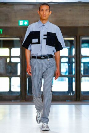 Xander Zhou Menswear Spring Summer 2019 London3