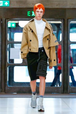 Xander Zhou Menswear Spring Summer 2019 London34