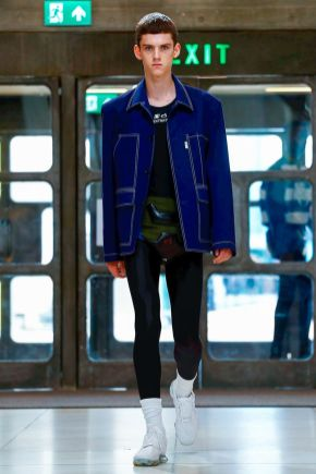 Xander Zhou Menswear Spring Summer 2019 London37
