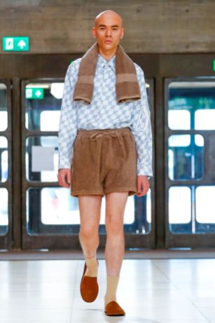 Xander Zhou Menswear Spring Summer 2019 London44