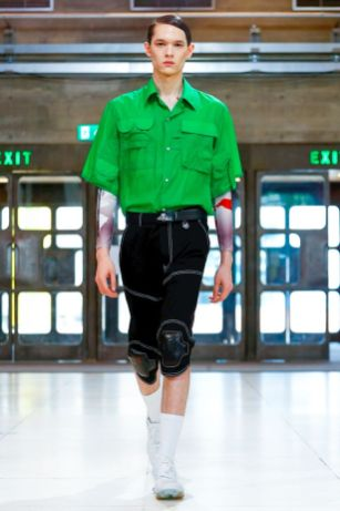 Xander Zhou Menswear Spring Summer 2019 London50