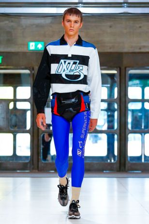 Xander Zhou Menswear Spring Summer 2019 London52