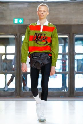Xander Zhou Menswear Spring Summer 2019 London9