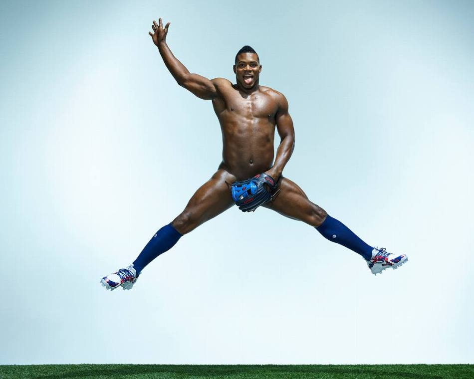 Yasel Puig for ESPN Body Issue 10