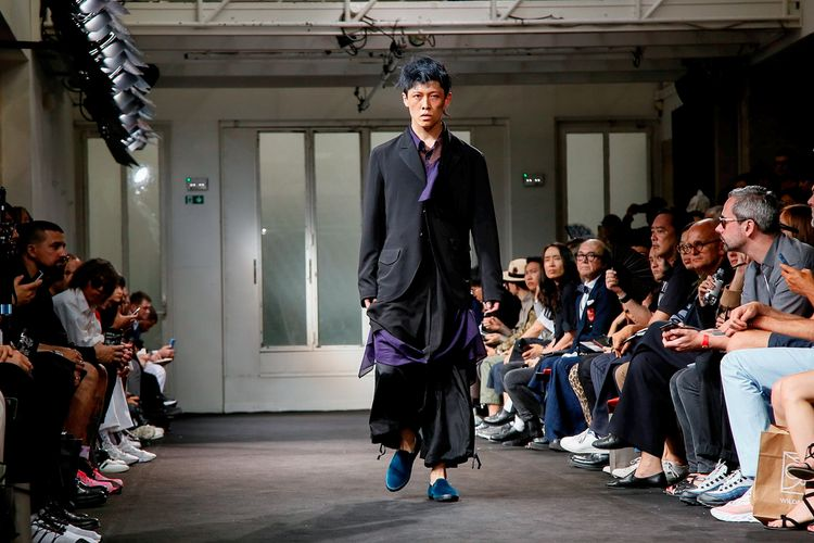 Yohji Yamamoto Spring Summer 2019 Paris