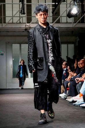 Yohji Yamamoto Menswear Spring Summer 2019 Paris27