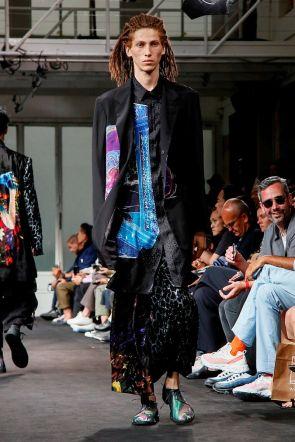 Yohji Yamamoto Menswear Spring Summer 2019 Paris28