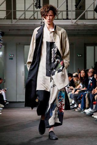 Yohji Yamamoto Menswear Spring Summer 2019 Paris36