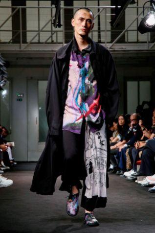 Yohji Yamamoto Menswear Spring Summer 2019 Paris41