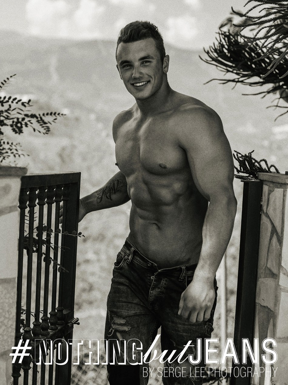 Fitness Model Dmitriy Tumash in #NothingButJeans by Serge Lee