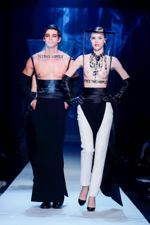 Jean Paul Gaultier Couture Fall Winter 2018 Paris48
