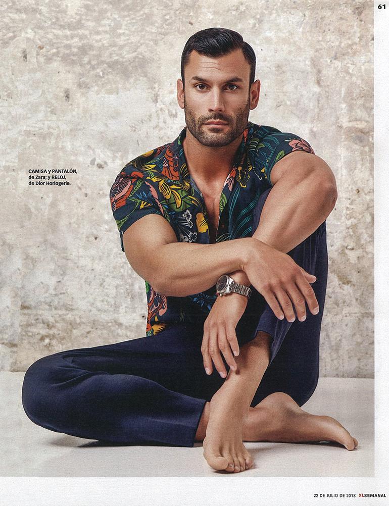 New Model On Demand: Jorge Pérez Díez for XL Semanal July 2018
