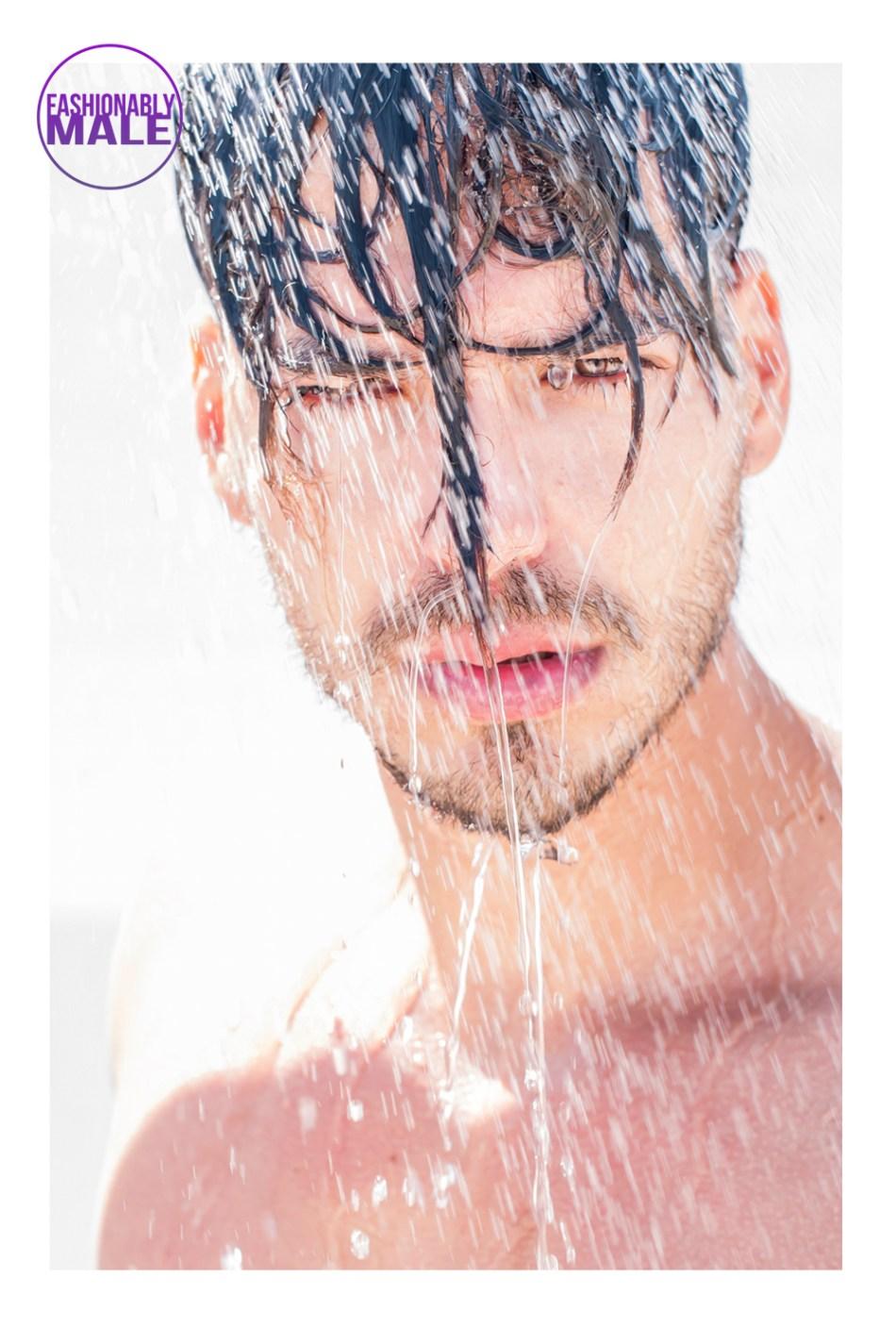 It's Raining Guys! Work by Alejandro Tomas
