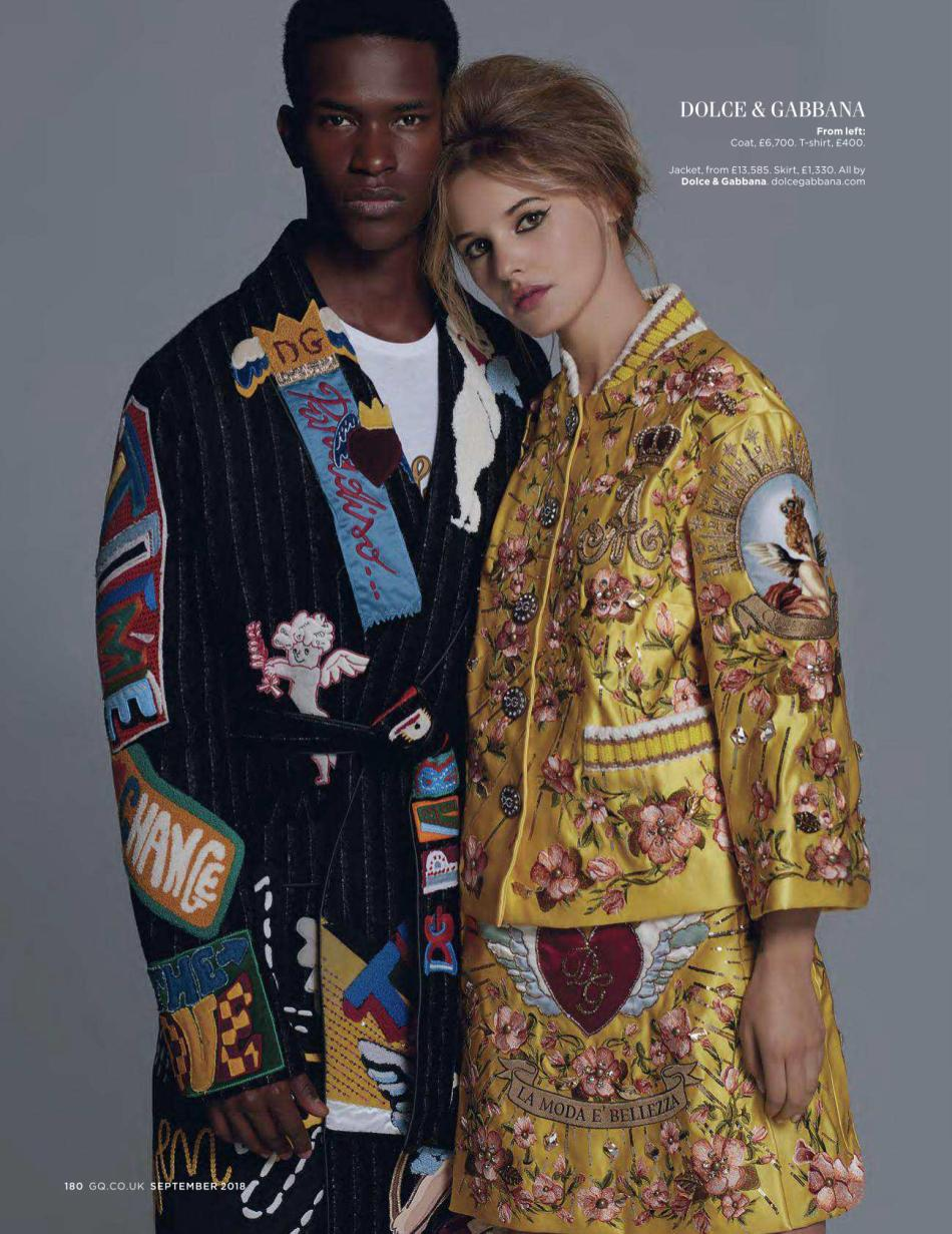 UK GQ September 2018: The Collections