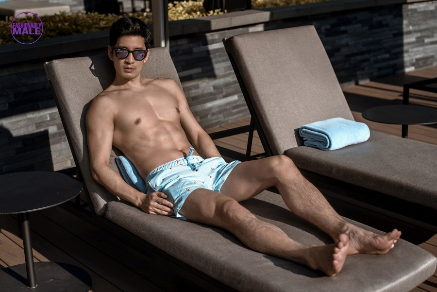 Richie Kul in The Bare Essentials by Jeremy Holden