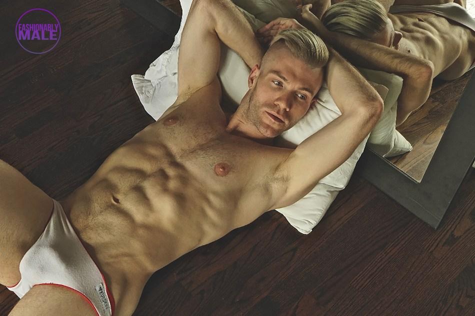 KJ Heath photographs Talent Dancer Adam Houston