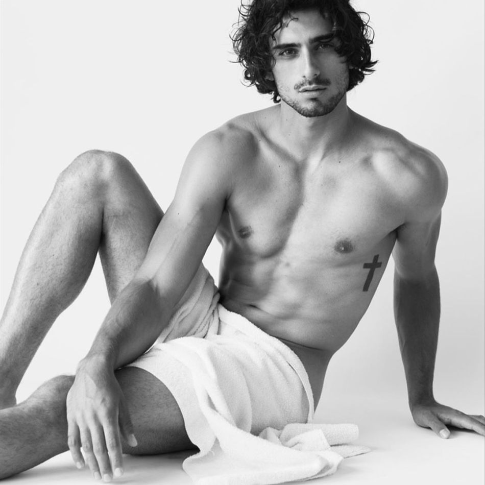 #TowelTuesday Christian Mazzilli by Anthony James Giura