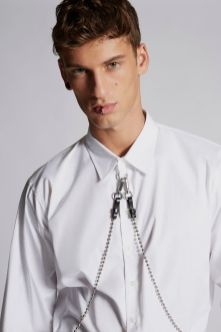 Cotton Poplin Punk Shirt