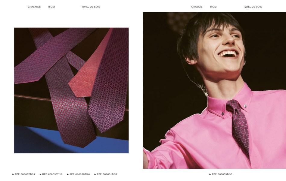 Hermès Cravates Fall/Winter 2018 Campaign