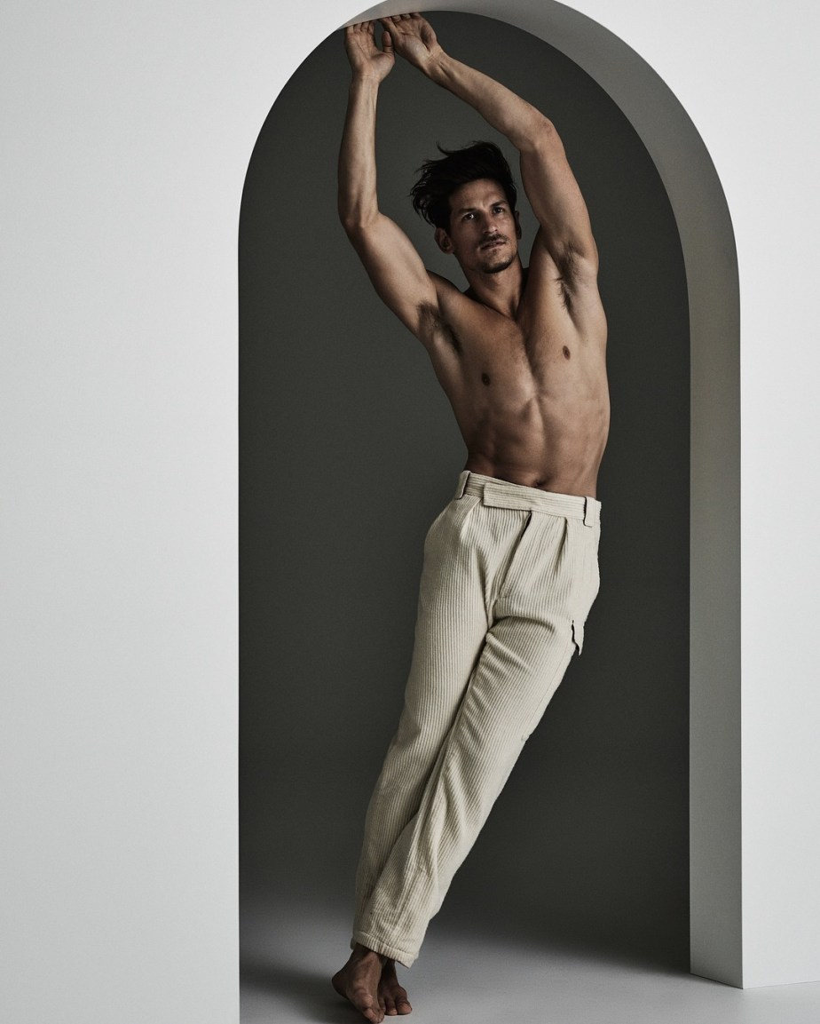 Jarrod Scott in the Cover for The Denizen