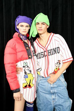 Moschino [tv] x H&M Fall Winter 2018 New York Backstage4