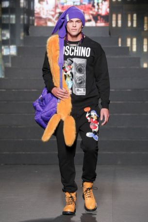 Moschino [tv] x H&M Fall Winter 2018 New York25