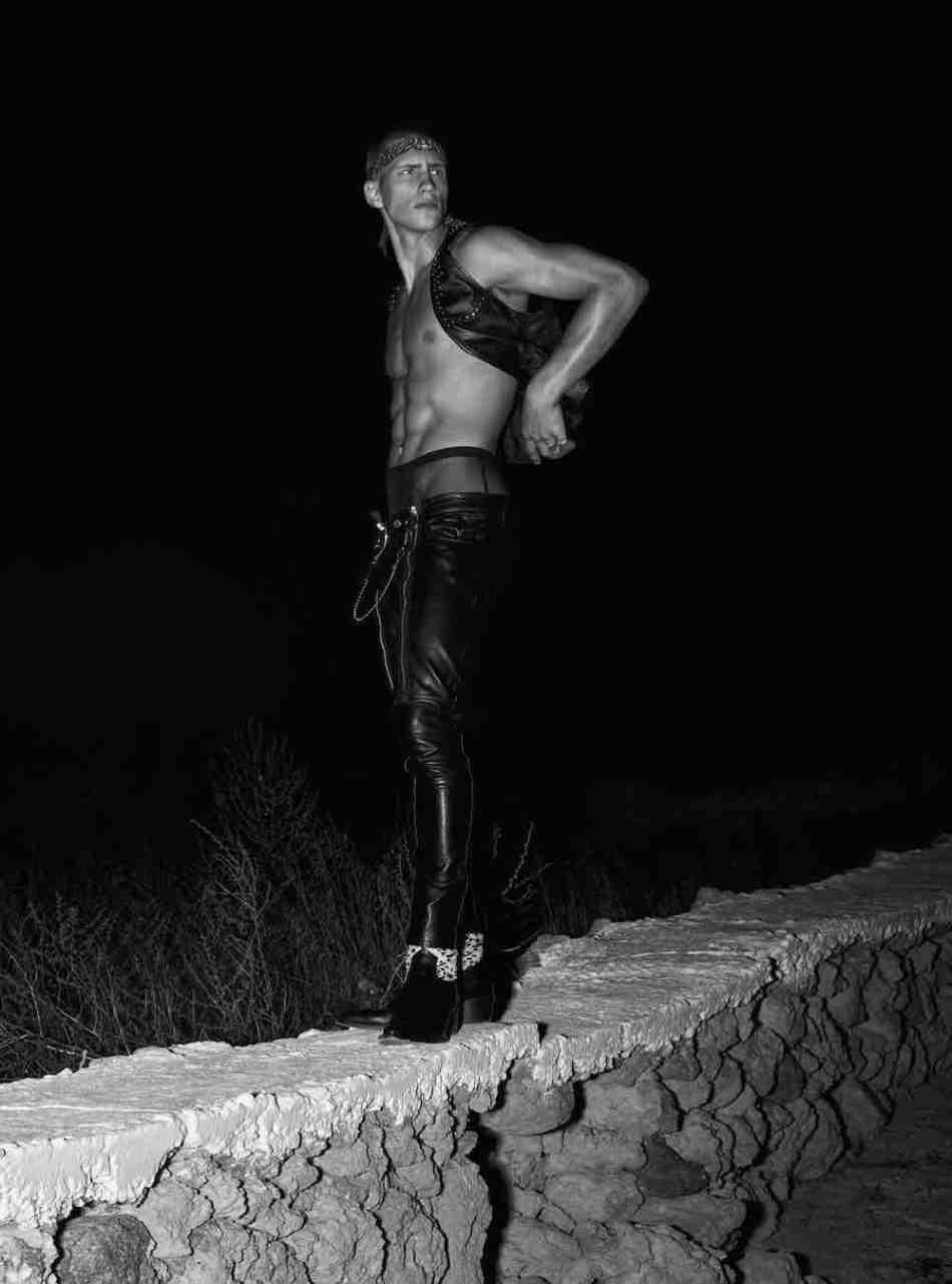 "Exclusive for VMAN ""Noir"" by Kosmas Pavlos"