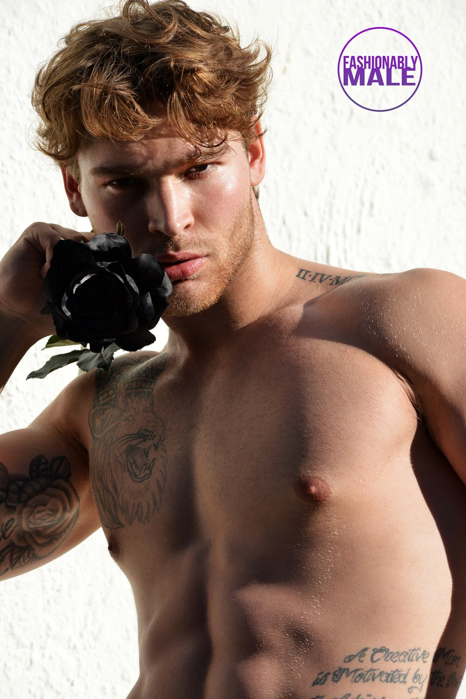 NSFW Dom DeRosa Like You've Never Seen Before Shots by Matthew Mitchell