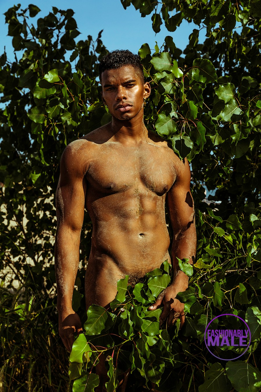 Beach Nude: Isaac McKinley by Christopher Marrs