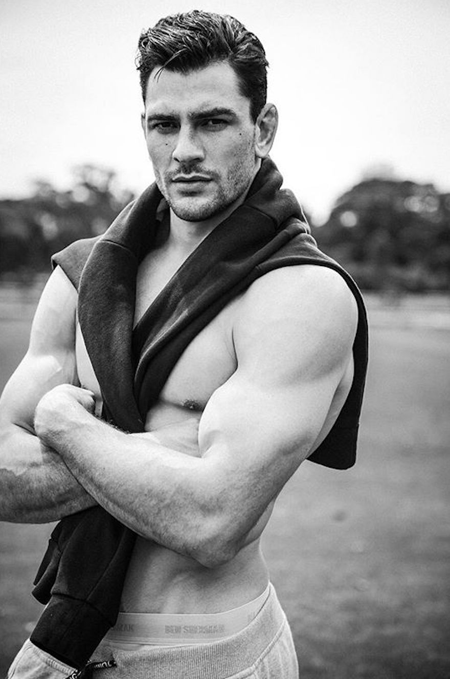 Represented by IMG Models, Marcus is photographed atCentennial Parklands in Sydney Australia.