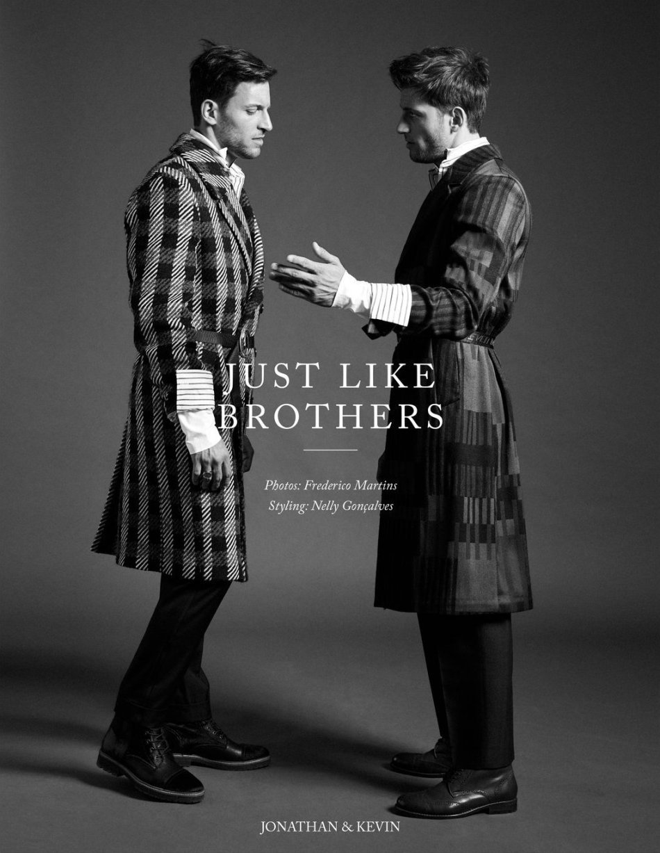 Portuguese Soul editorial feat. Kevin and Jonathan Sampaio