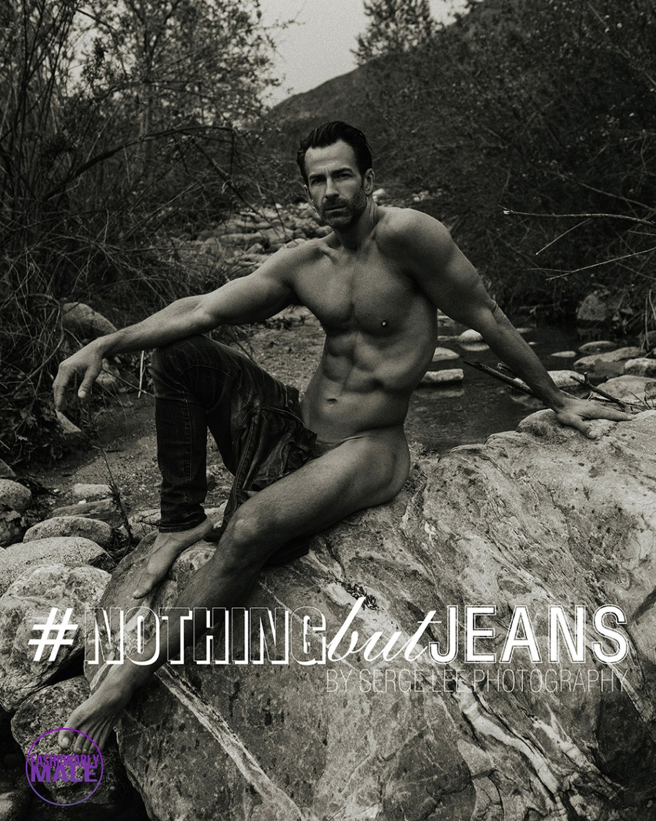 Serge Lee presents Ryan Young in #NothingButJeans