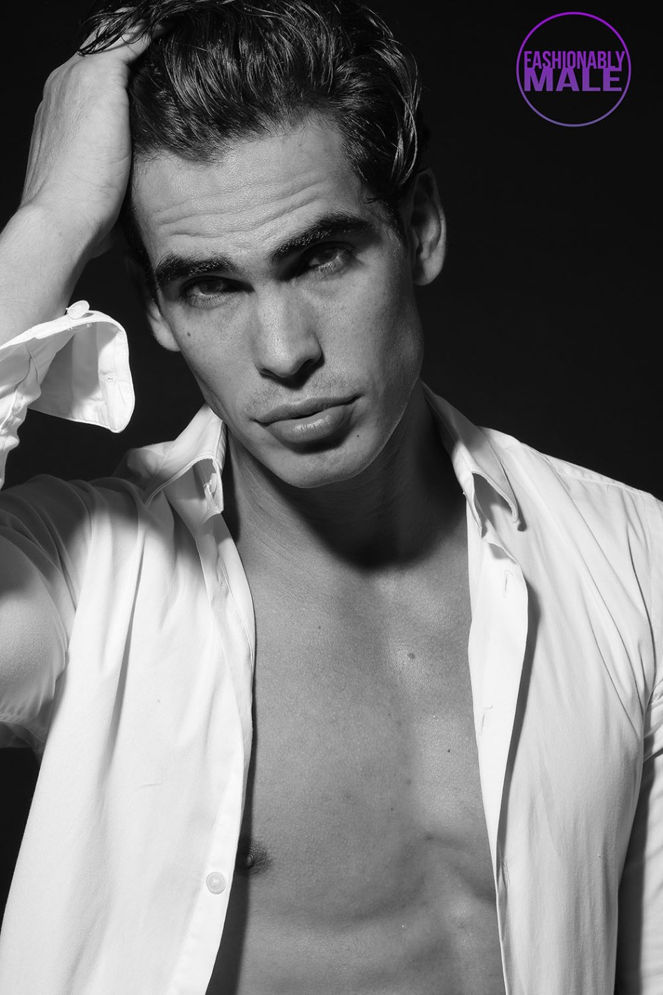Felipe Villagrana by Afif Kattan for Fashionably Male2