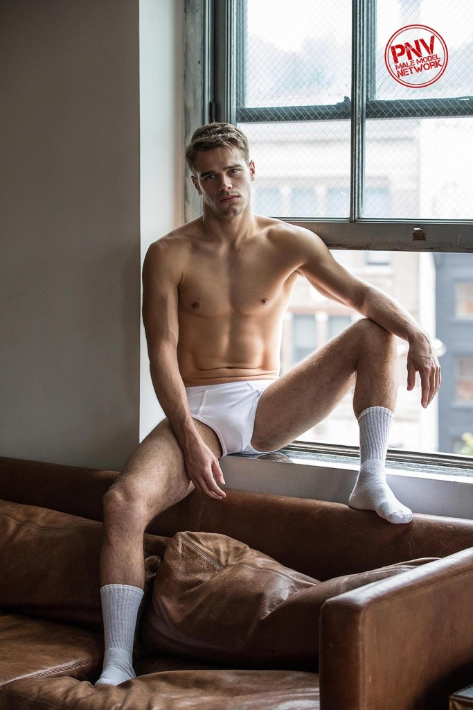 """Living on Tucker Time"" – Model/actor Tucker Des Lauriers With Images by Nick Andrews"