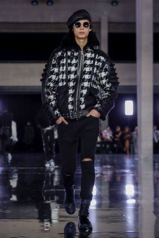 Balmain Homme Menswear Fall Winter 2019 Paris1