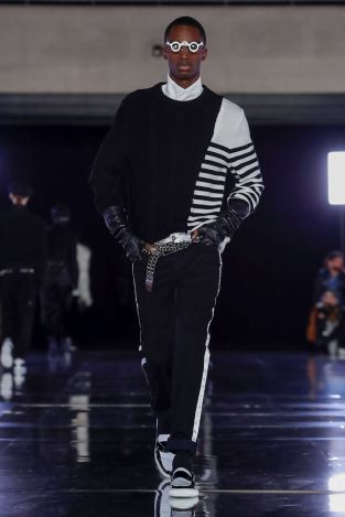 Balmain Homme Menswear Fall Winter 2019 Paris2