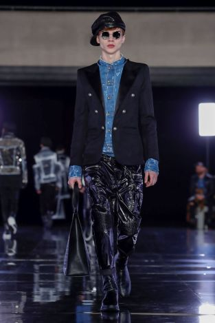 Balmain Homme Menswear Fall Winter 2019 Paris24