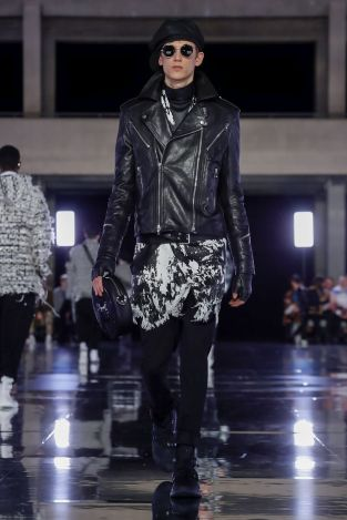Balmain Homme Menswear Fall Winter 2019 Paris30