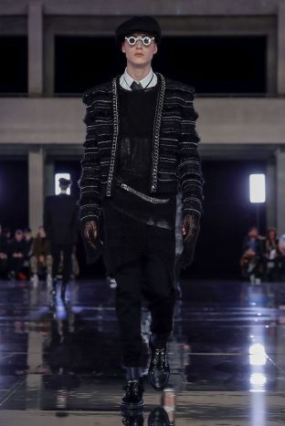 Balmain Homme Menswear Fall Winter 2019 Paris79