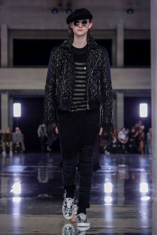 Balmain Homme Menswear Fall Winter 2019 Paris9