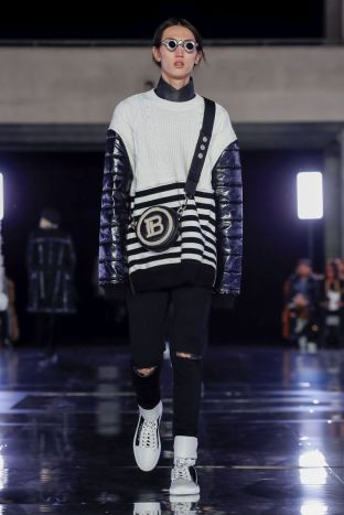 Balmain Homme Menswear Fall Winter 2019 Paris92